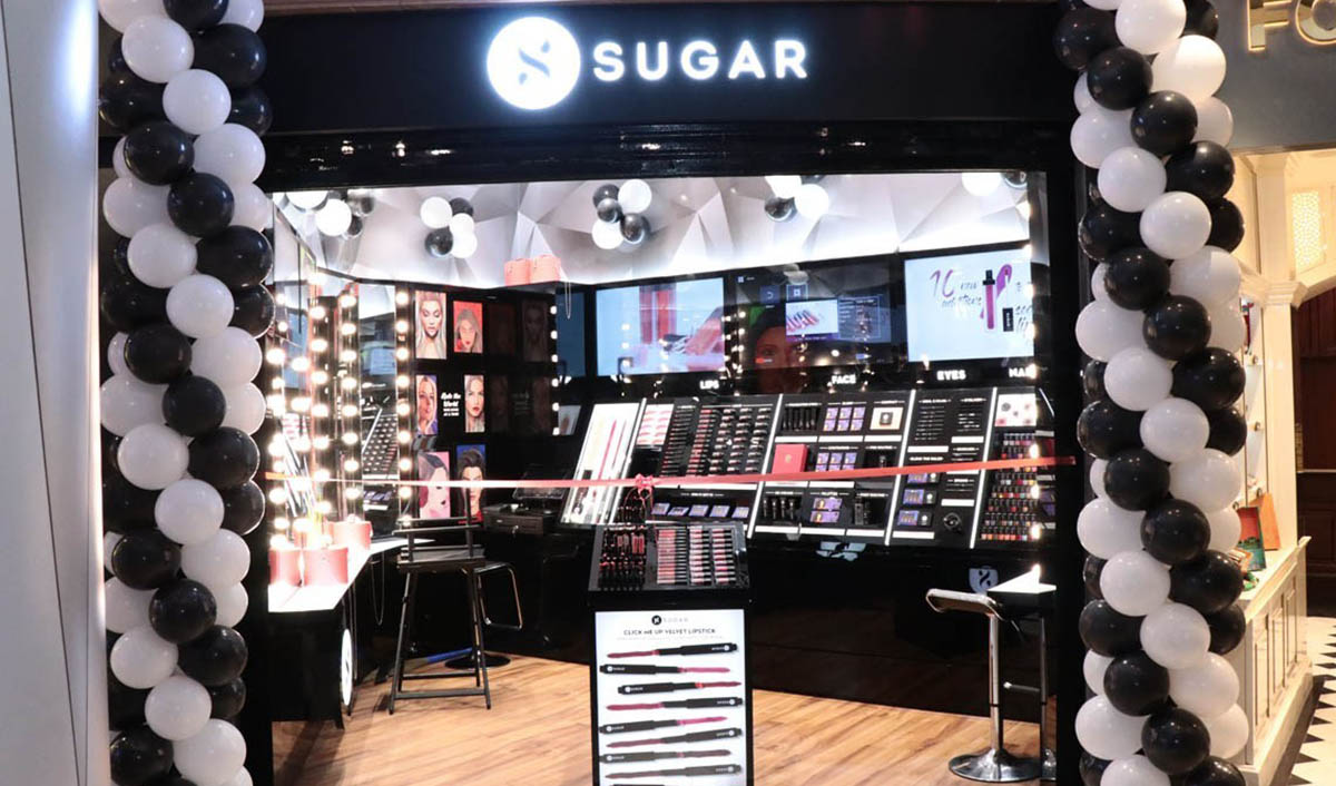 SUGAR Cosmetics launches first retail outlet in Bengaluru