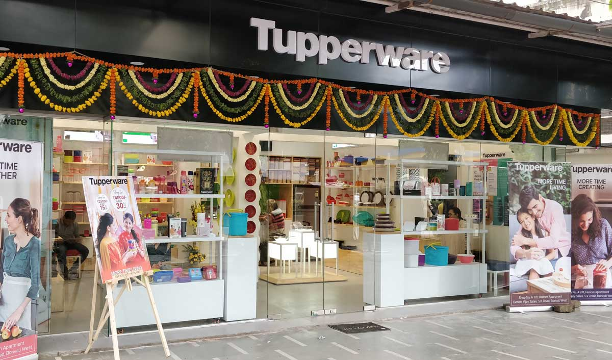 Tupperware India takes retail count to 17, launches two exclusive brand outlets in Mumbai