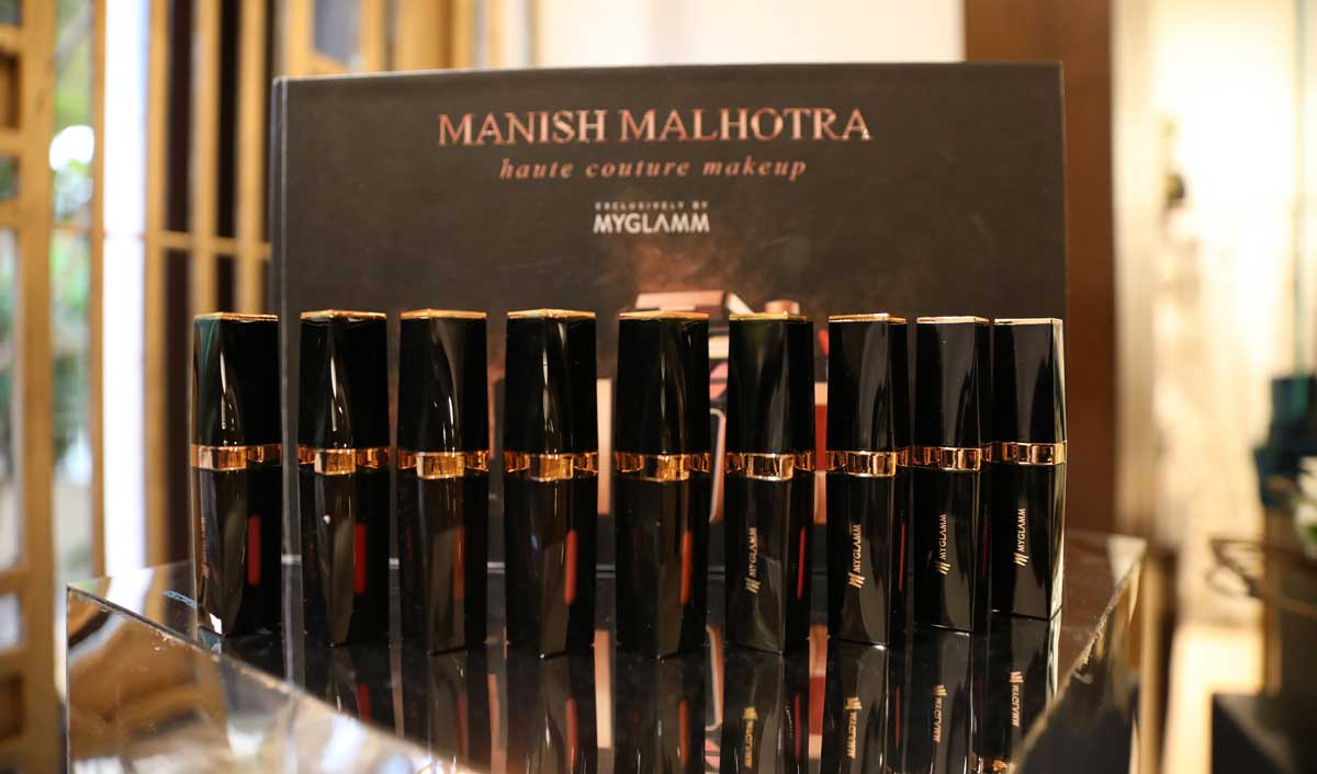 Manish Malhotra Beauty by MyGlamm establishes itself as India Premier Luxury Beauty Brand