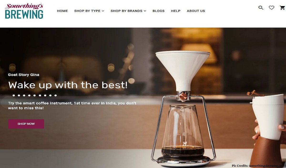 India's first coffee brewing one-stop e-shop launched