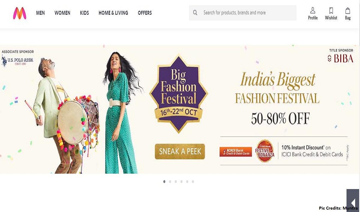 Myntra announces week long fashion festival