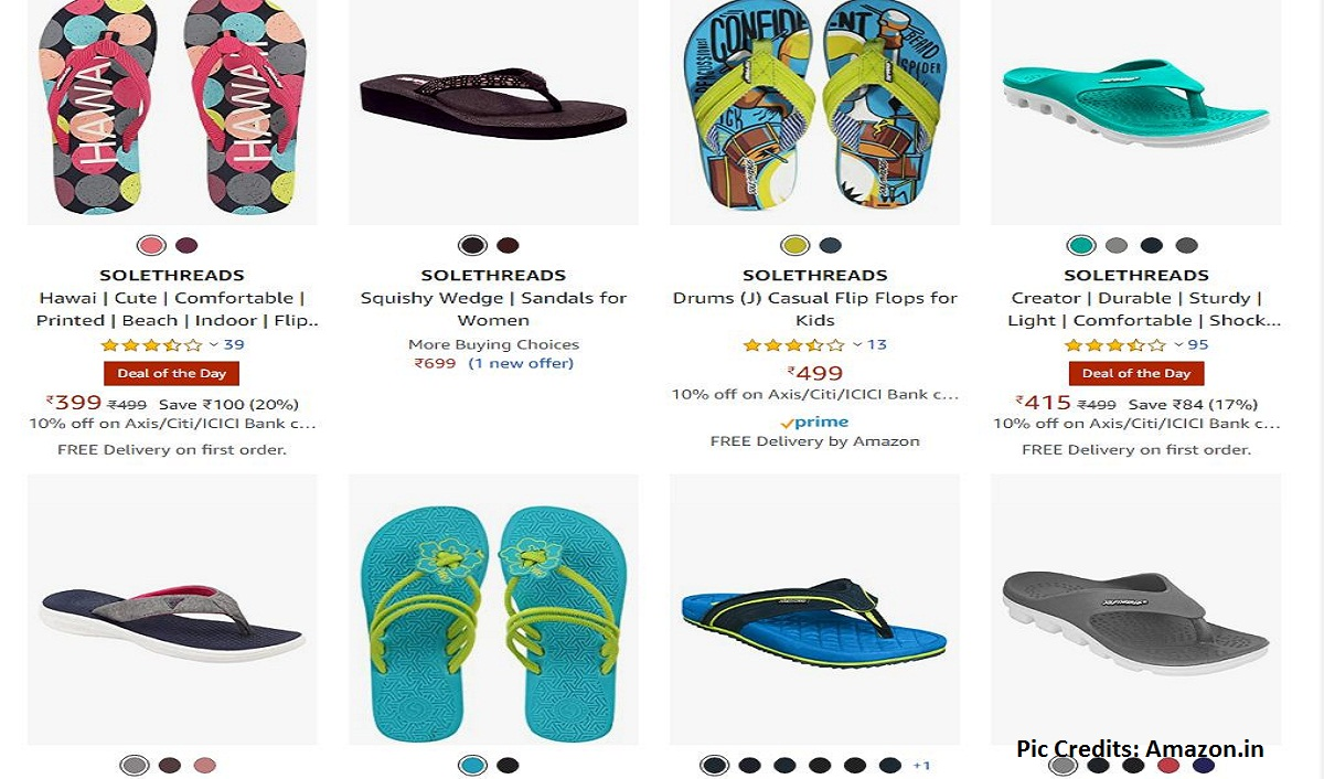 Amazon recognizes 'Solethreads' as an 'Emerging Brand' in Footwear category