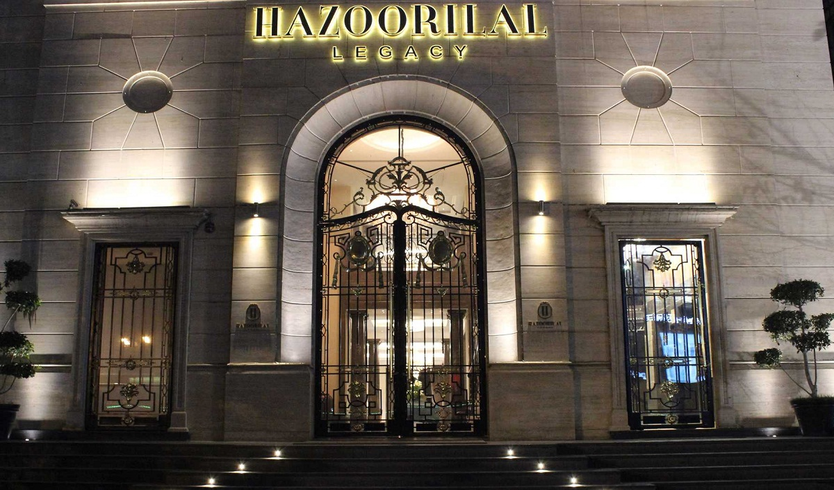 Hazoorilal Legacy launches its exclusive & premium Jewelry E-Boutique