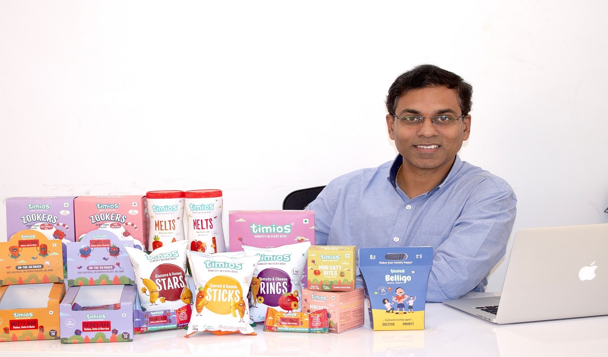 How Timios Is Building A Healthy Snack Brand For Children?