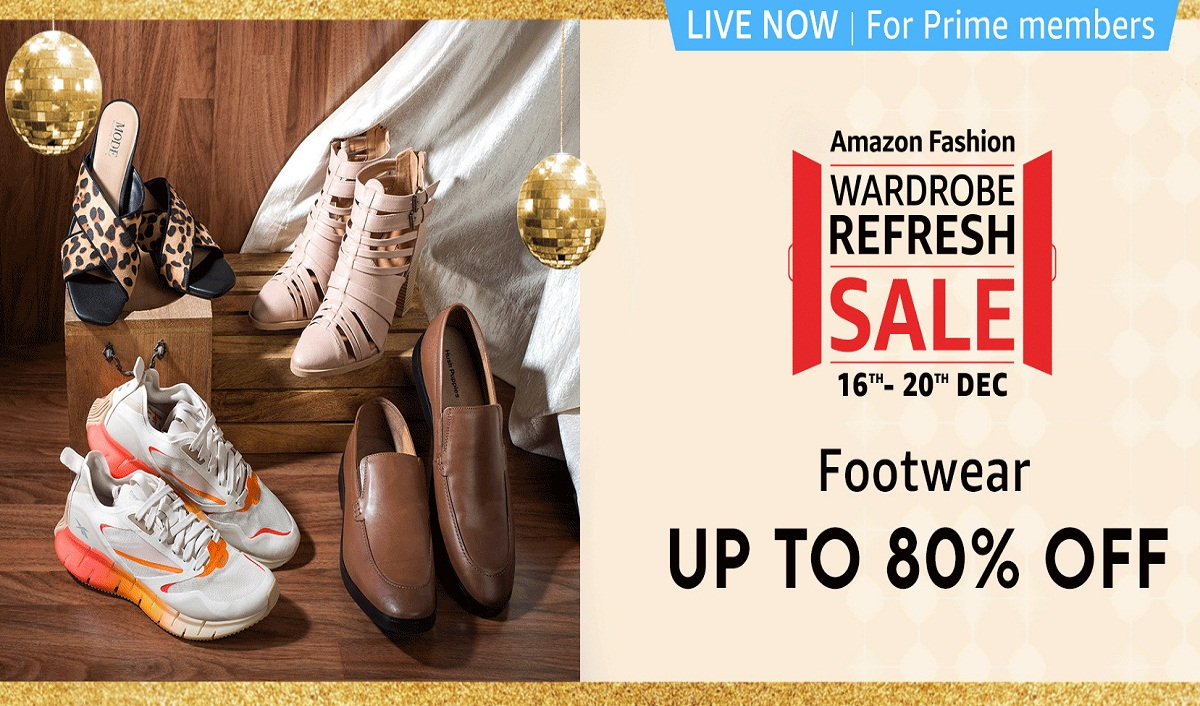 Amazon Fashion's Biggest Fashion Extravaganza –The Wardrobe Refresh Sale Is Back Again!