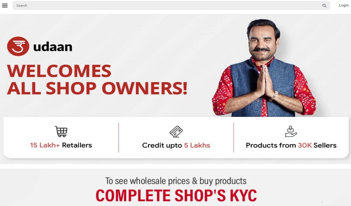 E-Commerce Startup Udaan Secures $280 mn Funding