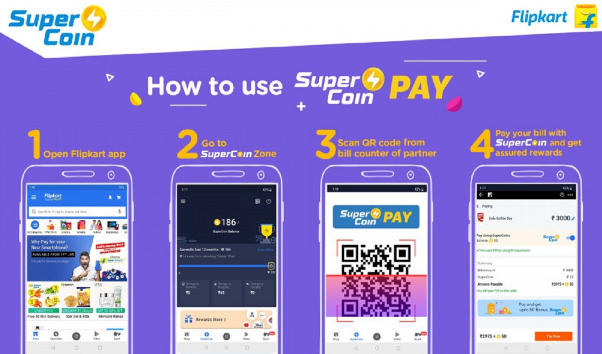Flipkart Launches SuperCoin Pay across 5000+ Partner Outlets