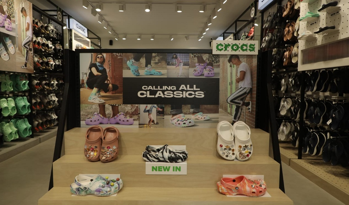 Crocs Unveils its Biggest Store in India
