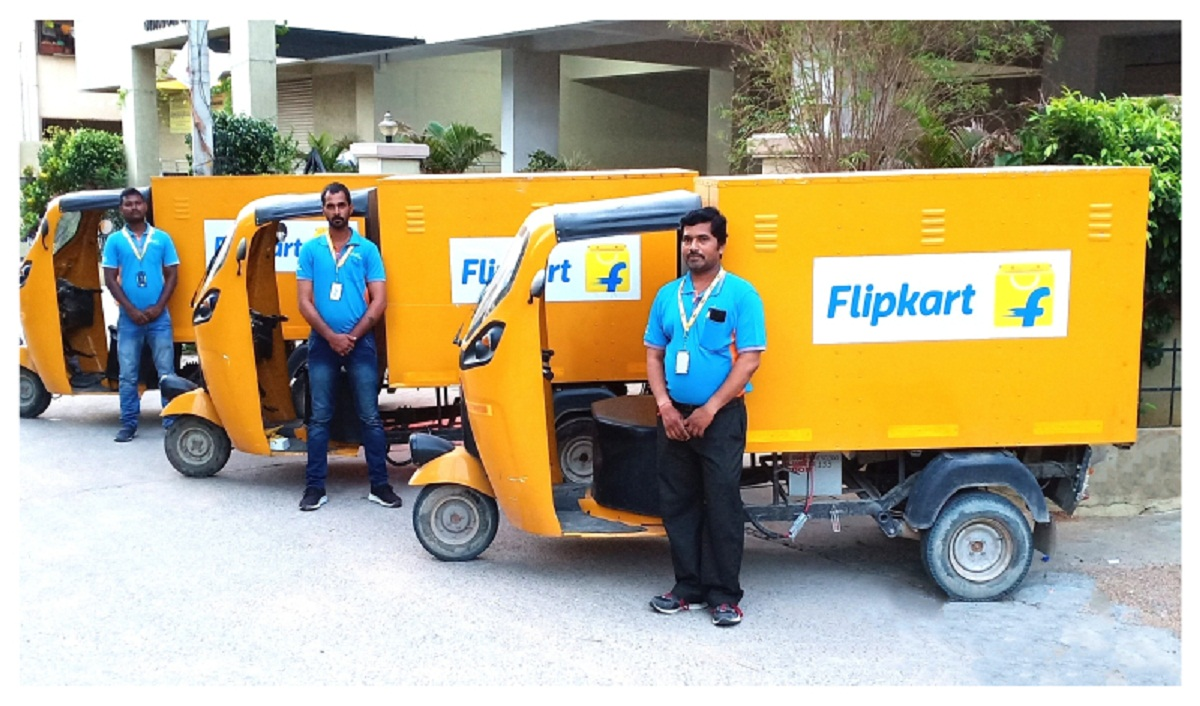 Flipkart Plans to Deploy 25K Electric Vehicles by 2030