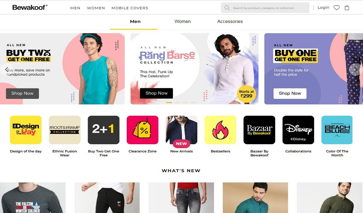 Apparel Brand Bewakoof Raises Rs 30 cr Funding to Add New Product Categories