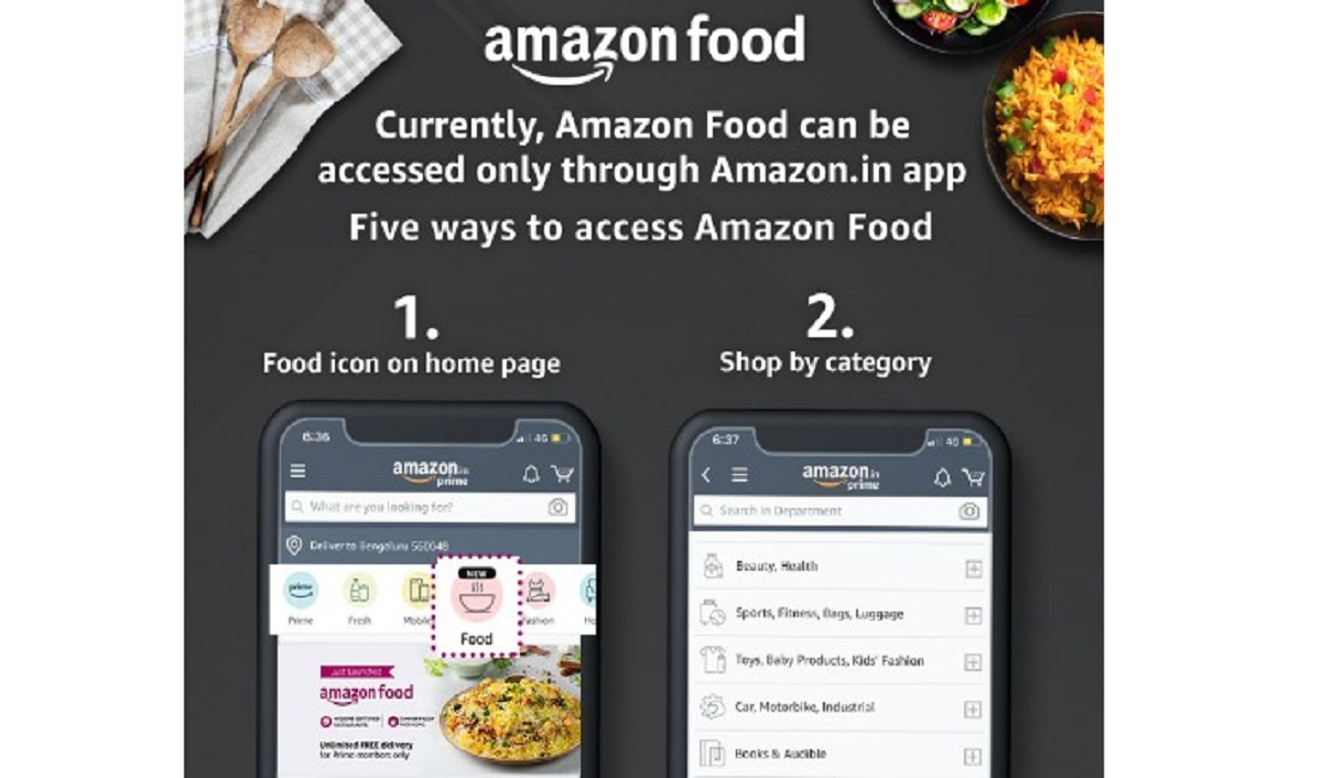 Amazon Expands Food Delivery in Bengaluru