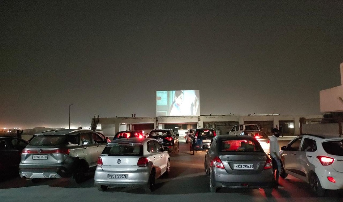 Pacific D21 Introduces Drive-In Cinema at Rooftop