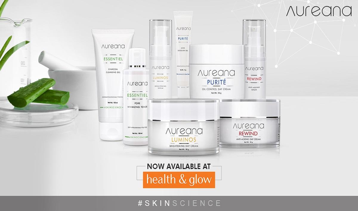Skin Care Brand Aureana Partners with Health & Glow