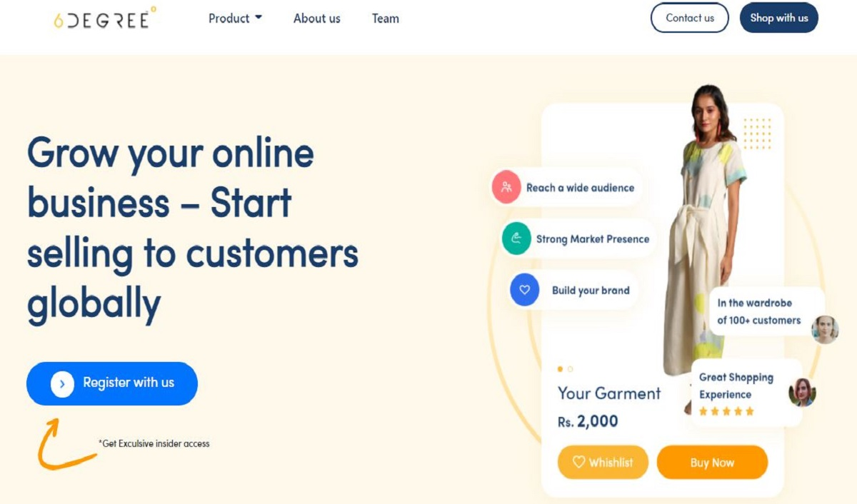 Fashion Retail Platform 6Degree to Ramp Up Operations for its Flagship Product Honeycomb