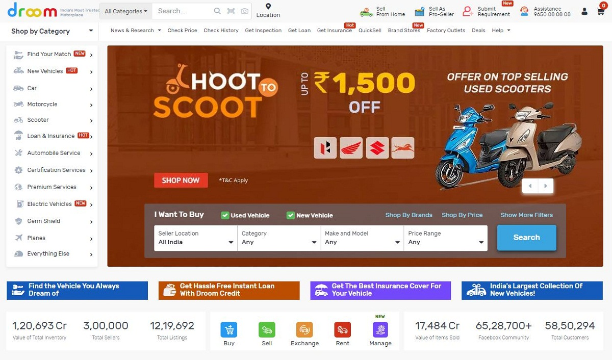 Droom Posts 80 pc Growth in Q1 Due to Accelerated Online Shift of Automobile Buying