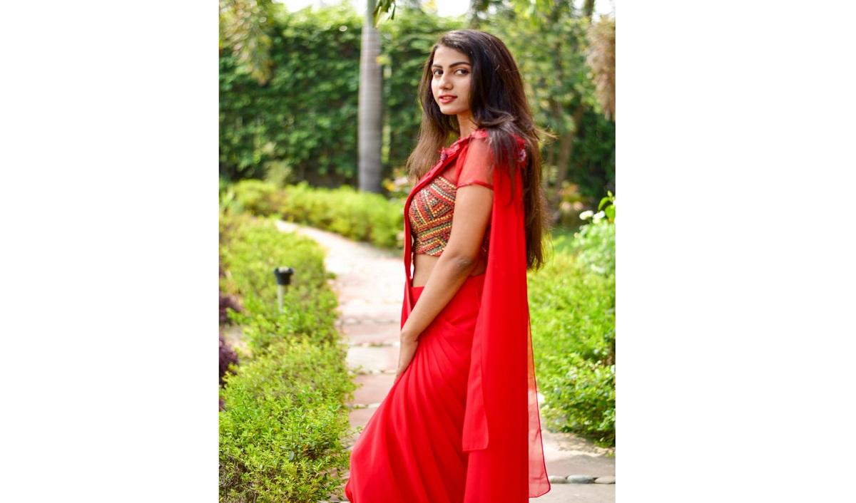 Designer Mithi Kalra Unveils Latest Bridal Collection of Drape-Sarees