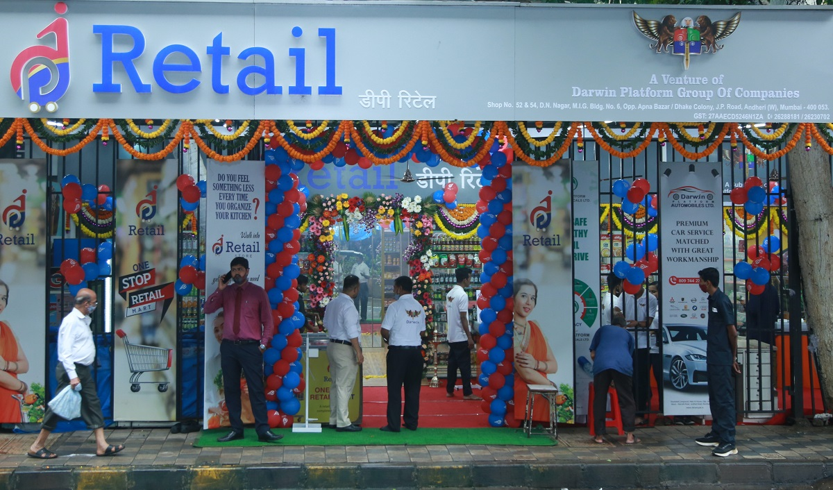 Darwin Platform Group's DP Retail Forays into Retail Space with First Store in Mumbai