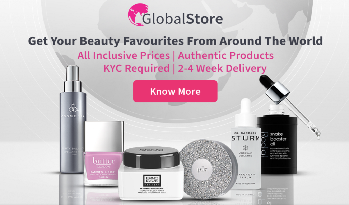 Nykaa Unveils 'The Global Store' to Provide International Beauty Brands in India