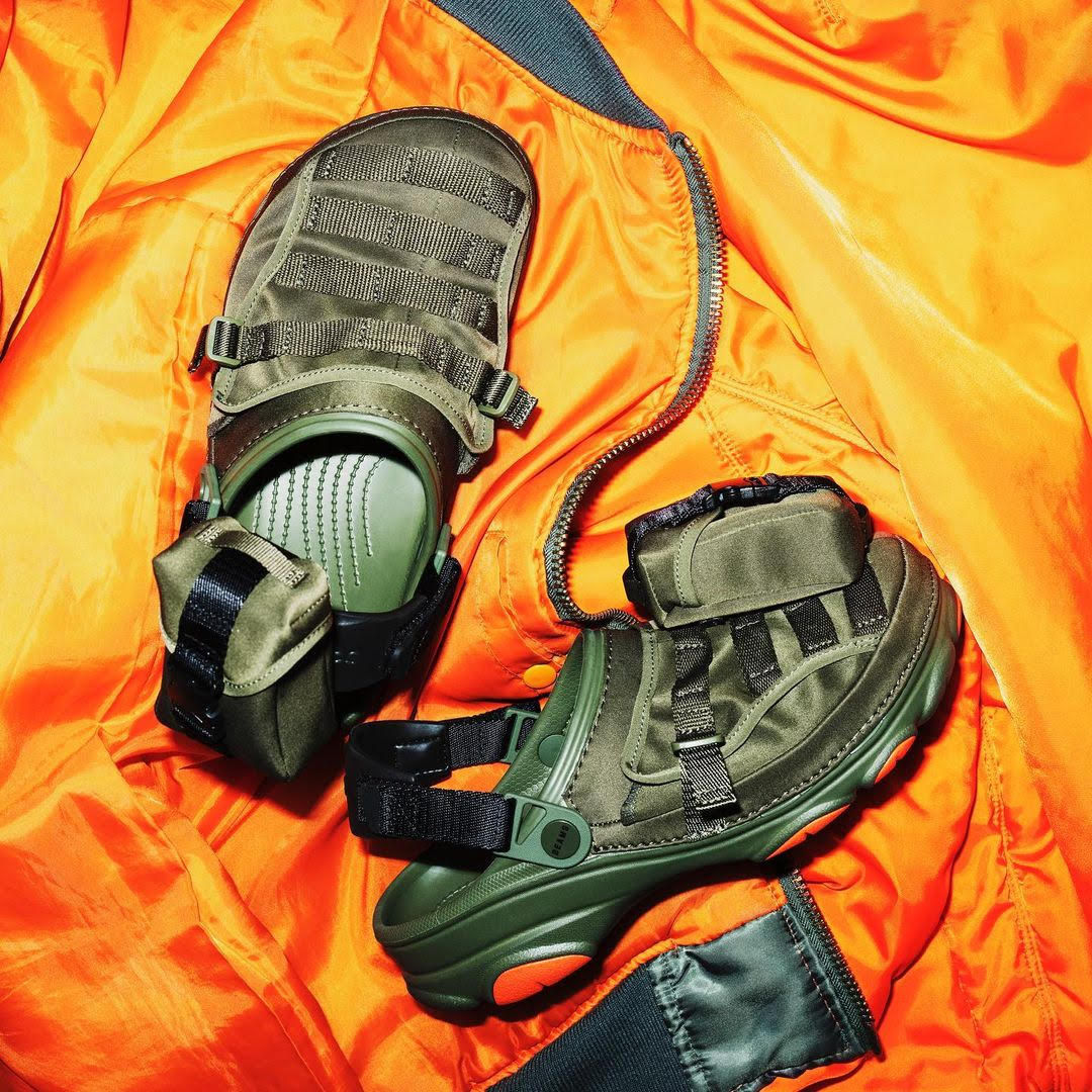 Crocs launches all new outdoor-inspired & military-inspired styles in collaboration with BEAMS