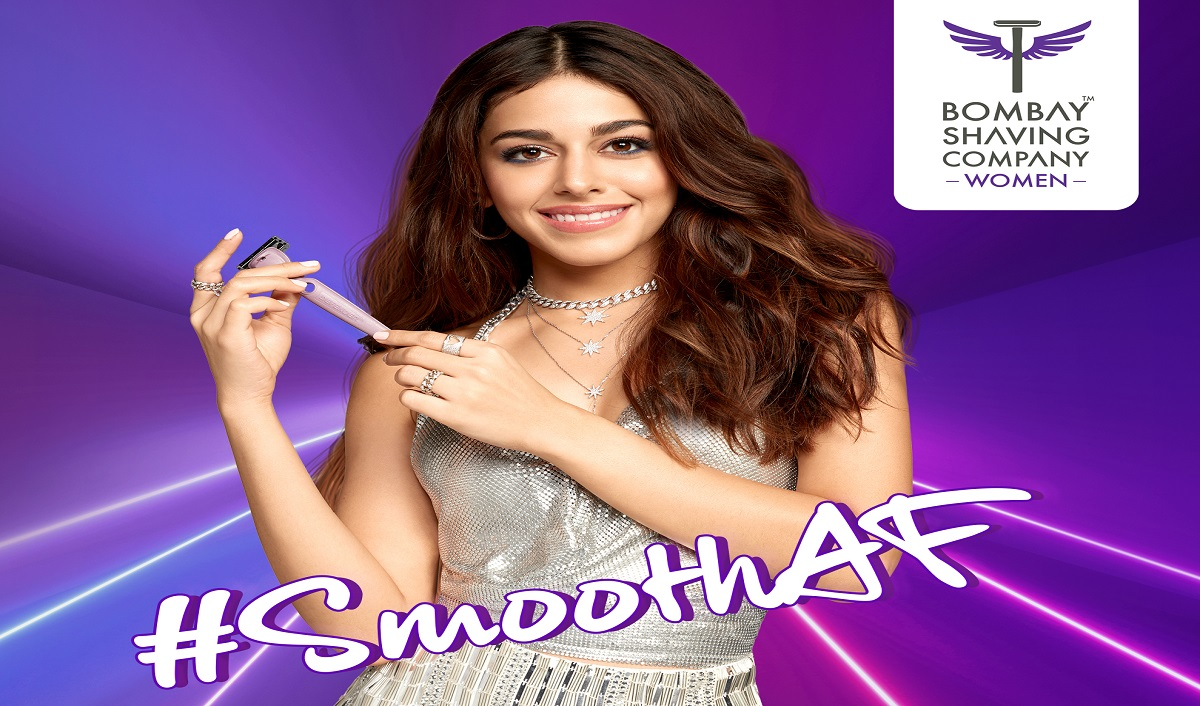 Bombay Shaving Company Women Signs Alaya F as Brand Ambassador