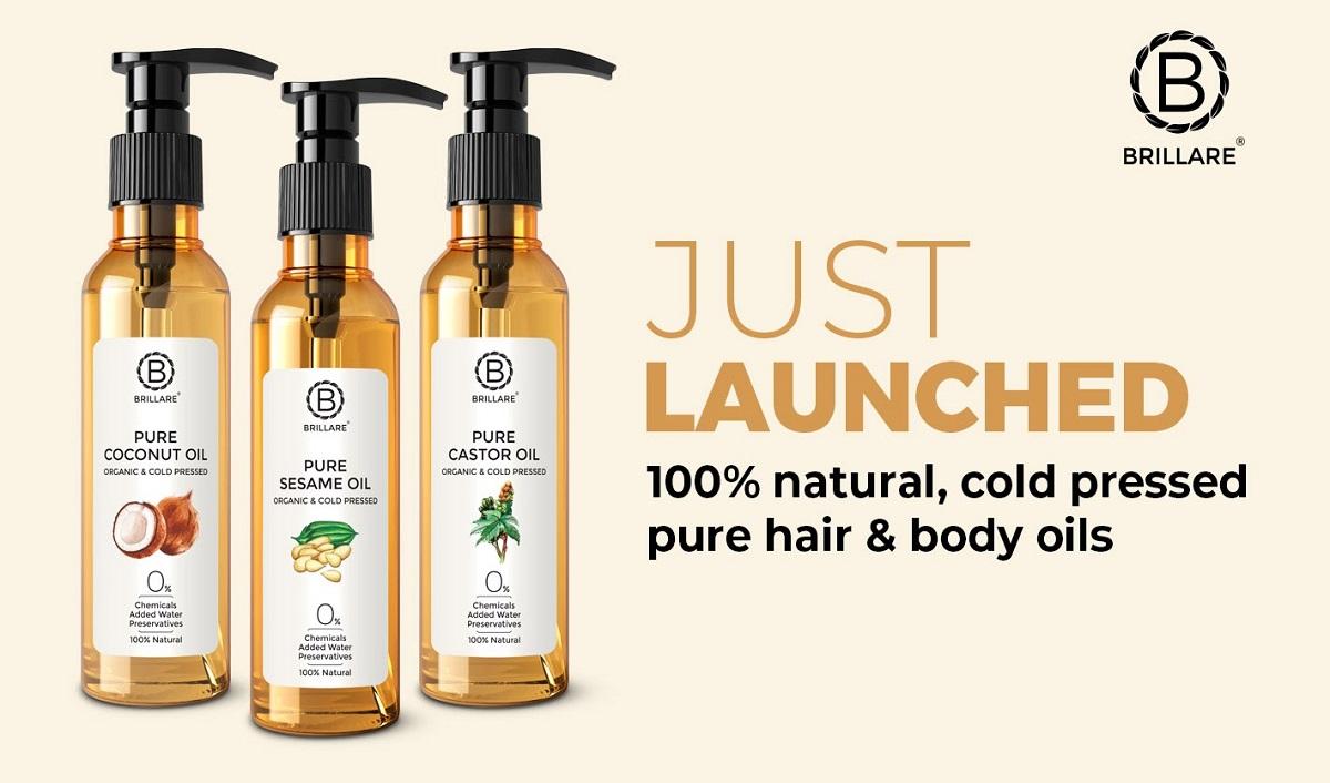 Brillare Introduces India's First Zero Dilution Hair Oils Ahead of Festive Season