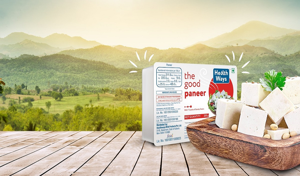 Healthways Launches Pure and Premium Quality Paneer in 3 Varieties