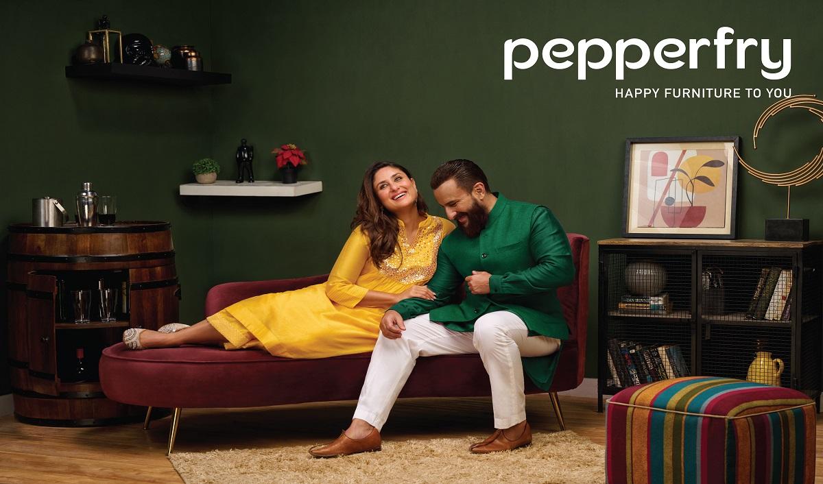 Pepperfry Launches Diwali Campaign Featuring Kareena Kapoor Khan and Saif Ali Khan