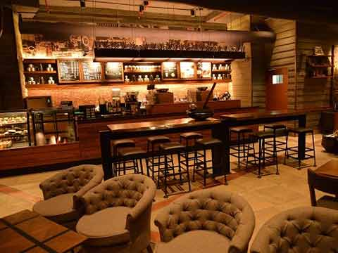 Starbucks' new swanky coffee store in Chennai