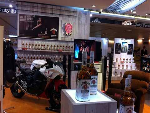 in pics: Jim Beam's stylish store at IGI airport