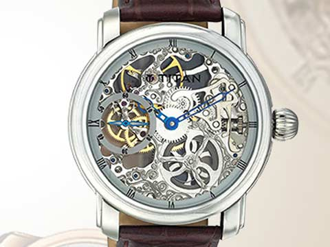 Titan outstripping country's watch market: Official