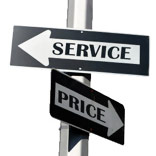 Price over Service or Vice-Versa?