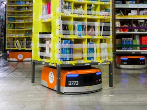 Amazon to deploy robots to boost efficiency