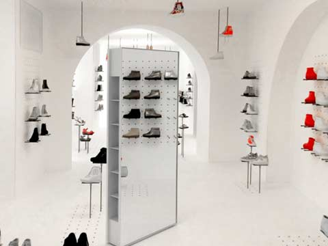 In pics: Ruco Line store in Rome, Italy