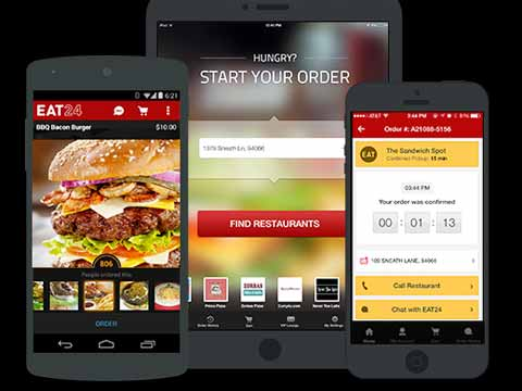 Yelp acquires online food ordering service Eat24 for $134 million