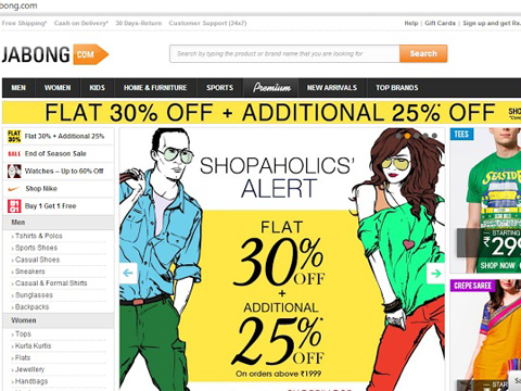 Jabong will not switch to app-only mode, website will remain open
