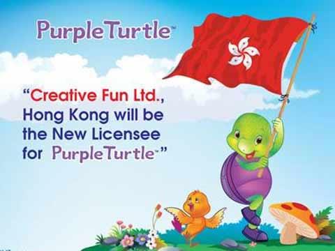 Creative Fun Ltd, HK inks pact for Purple Turtle