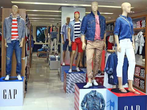 Gap opens its first store in India