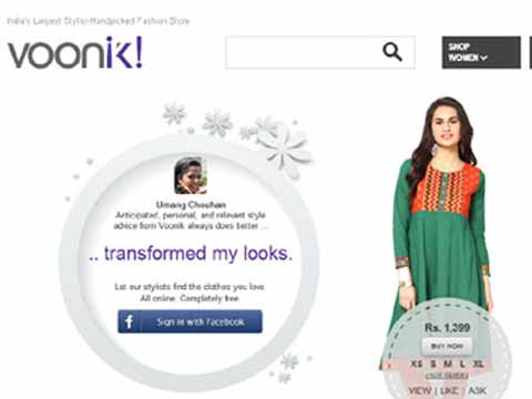 Fashion aggregator Voonik raises $5 mn from Sequoia, Seedfund