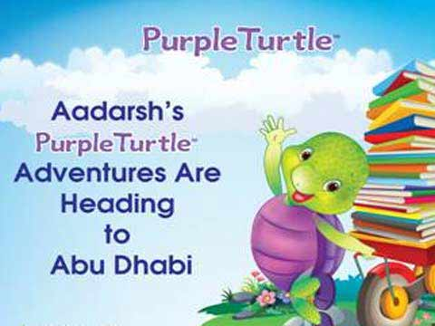 Purple Turtle heads to ABU DHABI
