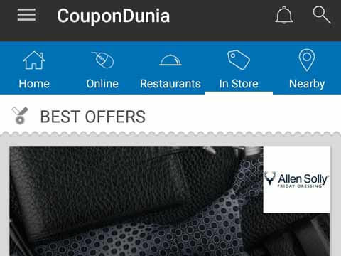 CouponDunia launches discounts for 200+ brands across 6 cities