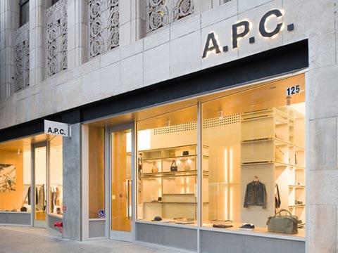 A.P.C. Los Angeles store by Laurent Deroo, redefines exquisiteness