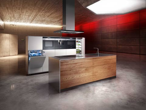 Siemens iQ700 transforms kitchen into a living room