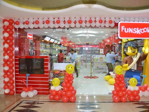 Kids to discover a new toy land, as Funskool unveils its seventh store in Rajasthan.