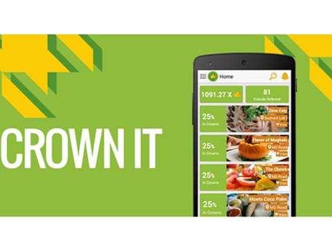 Hyper local app Crown it launches in Bangalore