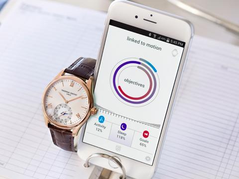 Frederique Constant unveils its smartwatch in India