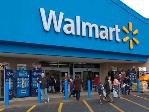 Wal-Mart's India sales dip 32% in 2014