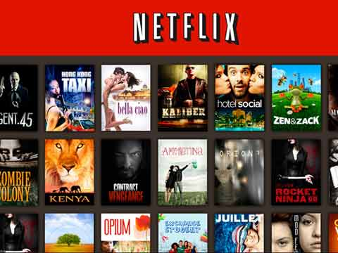 Netflix video streaming in India