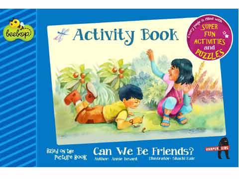 Beebop story book