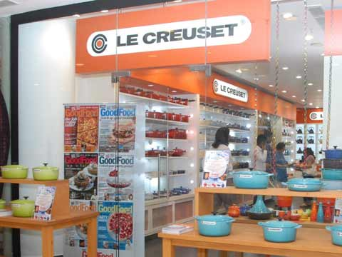 Le Creuset's adds a new set up