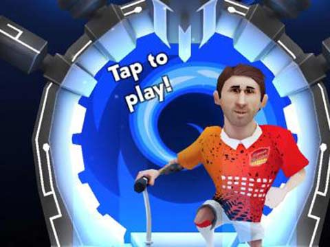 Messi launches app game with Space Scooter